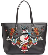 Love Moschino Applique Tote