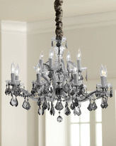 "Horchow ""Chantal"" Crystal Chandelier"