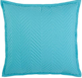 Dransfield and Ross Indoor/Outdoor Spliced Pillow-Turquoise