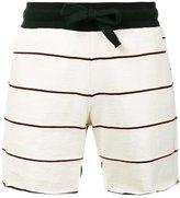 OSKLEN striped bermuda shorts - men - Cotton - P