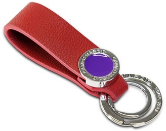 Campo Marzio Double Key Holder Cherry Red