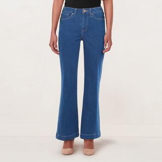 Lauren Conrad Women's Feel Good High-Waisted Flare Jeans