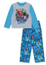 AME Avengers Little and Big Boys 2-Piece Pajama Set