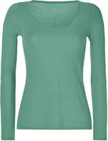 Dear Cashmere Mint Green A-Line Cashmere Pullover