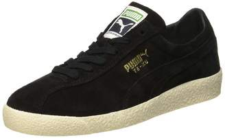 Puma Unisex Adults' Te-Ku Low-Top Sneakers Black Black Team Gold 8 UK