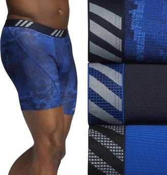 adidas Men's Sport Performance Mesh 3-Pack Boxer Brief