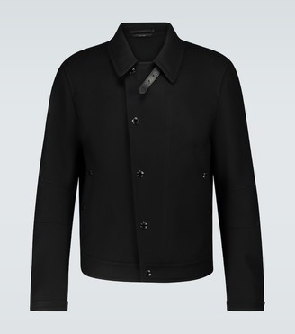 Tom Ford Wool biker jacket