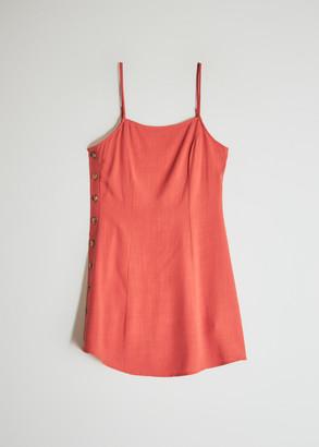NEED Women's Poplar Dress in Burnt Orange, Size Small
