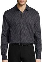 Jf J.Ferrar JF Long-Sleeve Woven Dress Shirt