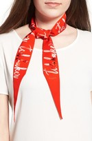 Ted Baker Women's Petula Playful Poppy Skinny Scarf