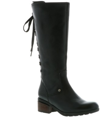 Wolky Side Zip Leather Boots - Hayden