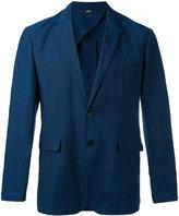 Burberry lightweight blazer - men - Cotton/Linen/Flax - 46