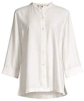 Natori Women's Sanded Twill Tunic Shirt