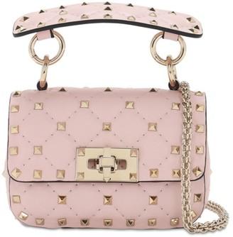 Valentino Micro Rockstud Spike Leather Bag