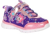 My Little Pony Lighted Bungee Strap Athletic Sneaker (Toddler Girls)