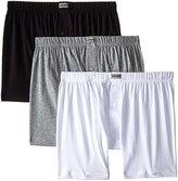 2xist Men's 3-Pack Essential Knit Boxer