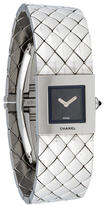 Chanel Quilted Mademoiselle Watch
