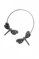 Forest of Chintz Black LiBellule II Necklace