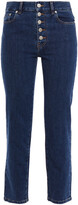 Thumbnail for your product : Joseph Cropped High-rise Straight-leg Jeans