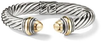 David Yurman Cable Classics Bonded Yellow Gold & 14K Gold Bracelet