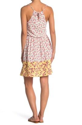 Luna Chix Floral Halter Neck Sleeveless Dress