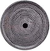 Marimekko Fokus Black/White Tray - 46cm Dia.
