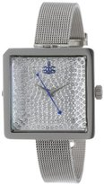 Vivienne Westwood Women's VV053SLSL Lady Cube Stainless Steel Watch