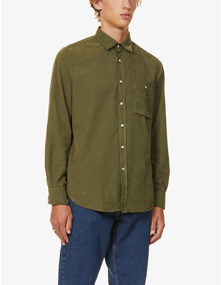 7 For All Mankind Corduroy cotton overshirt