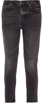 Golden Goose Deluxe Brand Happy Cropped Mid-rise Straight-leg Jeans - Black