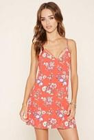 Forever 21 Open-Back Floral Dress