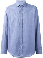 Etro woven print shirt - men - Cotton - 42