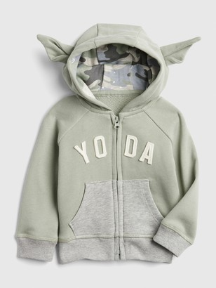 Star Wars babyGap | Yoda Hoodie Sweatshirt