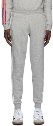 adidas Grey 3-Stripes Lounge Pants