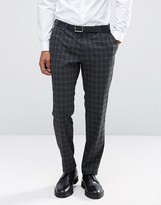 Jack & Jones Premium Skinny Suit Trouser In Check