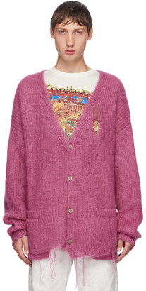 Doublet Pink Mohair Doll Cardigan
