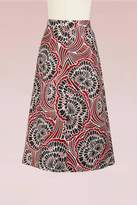 RED Valentino Brocard Long Skirt