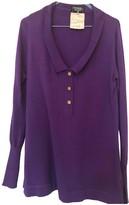 Chanel Purple Cashmere Knitwear for Women Vintage