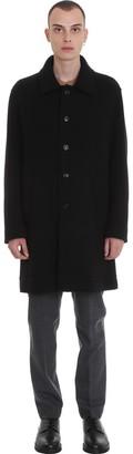 Mauro Grifoni Coat In Black Wool