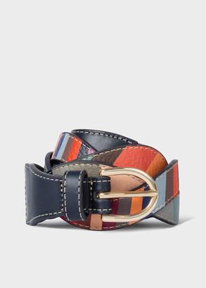 Paul Smith Women's 'Swirl' Braided Leather Belt