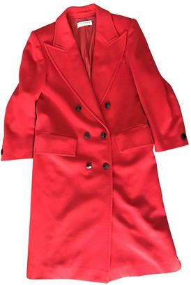 Guy Laroche Red Wool Coats