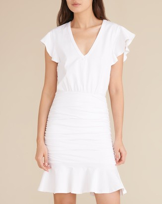 Veronica Beard Lisette Ruched Dress
