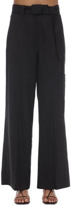 Ganni High Waist Cool Wool Pants