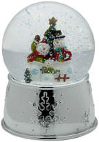 Mikasa Celebrations by Snowman Family With Tree Musical Snow Globe