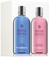 Molton Brown Inspiring Wild Indigo and Intoxicating Davana Blossom Bath & Shower Gel Set