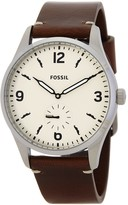 Fossil Men's Stainless Steel Egg Strap Watch