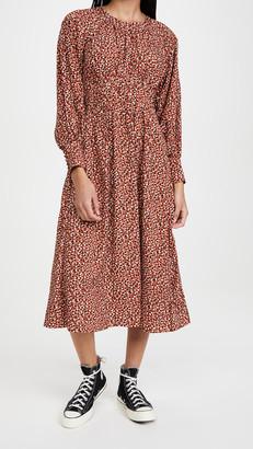 BB Dakota Wild In Style Animal Print Midi Dress
