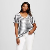 Ava & Viv Women's Plus Size V-Neck Tee