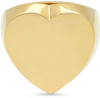 Established Jewelry 14k Gold Flat Heart Ring, Size 7