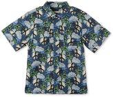 Stella McCartney blue hawaiian print rowan shirt
