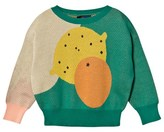 The Animals Observatory Green Bull Sweater